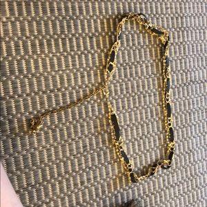 Accessories - Black/gold chain belt